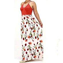 Šaty - Happy háčkované šaty tulipánové - 9820510_