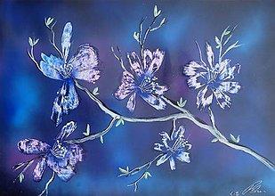Obrazy - Kvety - 9821325_