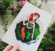 Grafika - Pani Machová - 9822503_