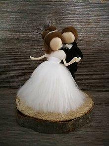 Darčeky pre svadobčanov - Ženích a nevesta - 9820998_