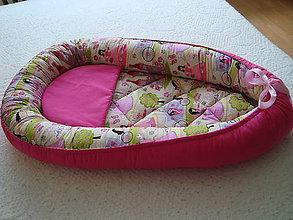 Textil - Hniezdo pre bábätko  s princezničkami - 9821368_