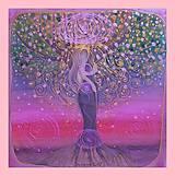 Obrazy - Bohyňa Stromu prianí - 9821304_