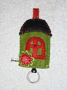 Kľúčenky - Domček na kľúčik - 9822419_