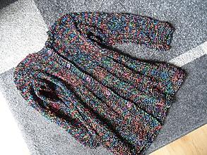 Detské oblečenie - ľahučký prskaný svetrík - 9822519_