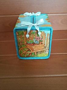 Krabičky - Box na vreckovky - 9821425_