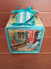 Krabičky - Box na vreckovky - 9821439_