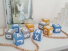 Hračky - Pohyblivá abeceda farebná - 9821214_