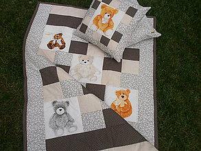 Textil - Veselí medvedíci - 9822563_