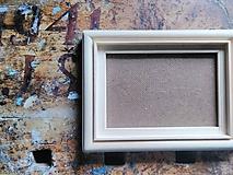Rámiky - Drevený rámik:) bez povrchovej úpravy - 9826054_