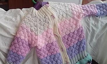 Detské oblečenie - dievčenská vesta 2 - 9823686_