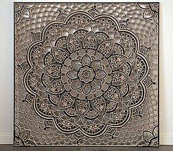Obrazy - Mandala (Čierna) - 9824957_