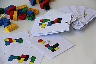 Hračky - Lego kartičky 3D / PDF verzia - 9825839_