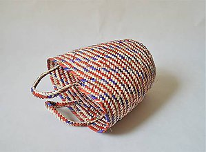 Košíky - Pletený palmový kôš SLOVAK - 9823436_