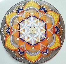 Dekorácie - Mandala tvorivej sily a kreatívnej mysle - 9825926_