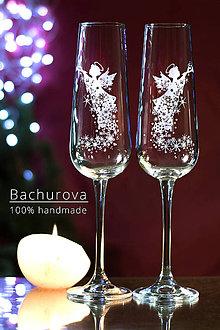 Kytice pre nevestu - Vianočné poháre - 9824954_