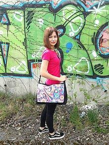 """Veľké tašky - Originálna taška cez rameno """"ULITA"""" - 9824098_"""
