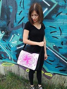 """Veľké tašky - Originálna taška cez rameno """"LÁSKA"""" - 9824192_"""
