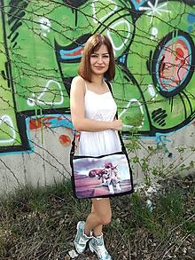 """Veľké tašky - Originálna taška cez rameno """"PRIATEĽSTVO"""" - 9824240_"""