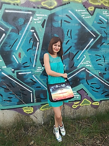 """Veľké tašky - Originálna taška cez rameno """"STROM"""" - 9824365_"""