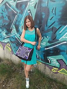 """Veľké tašky - Originálna taška cez rameno """"ŽIVOT"""" - 9824384_"""
