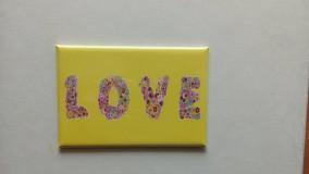 """Drobnosti - Magnetka """"LOVE"""" - 9824711_"""