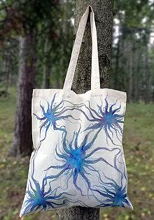 Nákupné tašky - Ručne maľovaná taška, Prepojenie - 9825380_