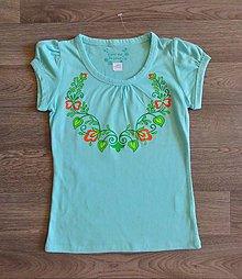 Detské oblečenie - Detské maľované tričko - 9823911_