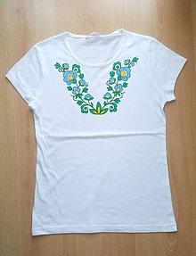 Detské oblečenie - Detské maľované tričko - 9823958_