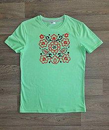Detské oblečenie - Detské maľované tričko - 9824028_