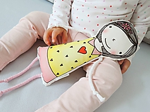 Hračky - Bábika v žltých šatách - 9826013_