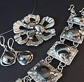 Sady šperkov - Darčeková sada šperkov - Hematit - 9825678_