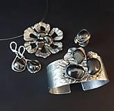 Sady šperkov - Darčeková sada šperkov - Hematit - 9825714_