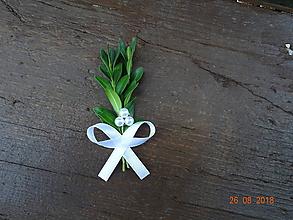 Pierka - Krušpánové svadobné pierko č.1 - varianta s menšími guličkami - 9824713_