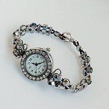 Náramky - Elegantné korálkové hodinky II - 9823432_