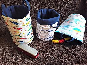 Krabičky - Košíček na hračky - 9827318_