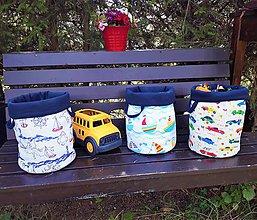 Detské doplnky - Košíček na hračky - 9827355_