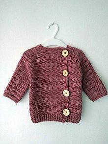 Detské oblečenie - Jesenný svetrík - 9826953_