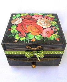 Krabičky - Šperkovnica -Kalinka - 9828780_