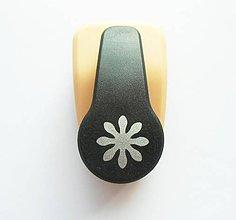 Pomôcky/Nástroje - Dierovačka na hrubší papier, moosgummi - 16 mm, kvetinka, kvet - 9826276_