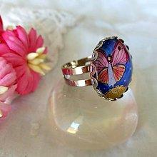 Prstene - Buď ako motýľ_na prštek :) - 9827358_