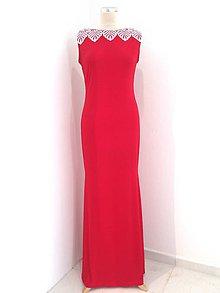 Šaty - Spoločenské šaty s KRAJKOU - 9826522_