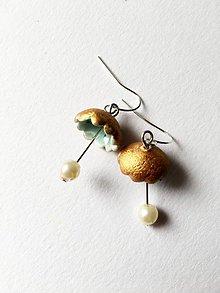 Náušnice - maličké zvončeky - 9827262_
