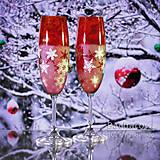 Kytice pre nevestu - Vianočné poháre - 9828355_