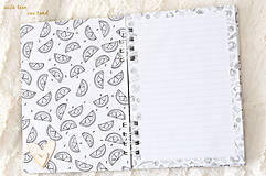 Papiernictvo - Zápisník - kaktus/sukulent - 9827942_