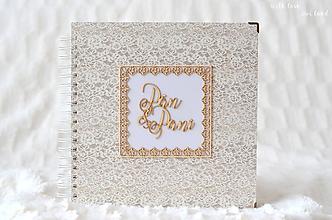 Papiernictvo - Svadobný fotoalbum - 9827904_