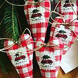 - Vianocne srdiecko na zavesenie - 9828374_