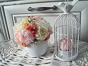 Dekorácie - Malý kvetináčik :) - 9826885_