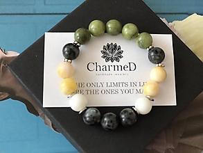 Náramky - Náramok Zelené jablko / Green Apple Bracelet - 9827875_