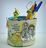 Detské doplnky - Picasso - stojan na ceruzy - 9827478_