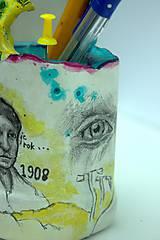 Detské doplnky - Picasso - stojan na ceruzy - 9827479_